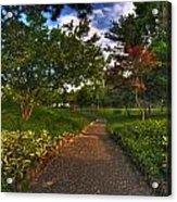 Entering The Japanese Garden Acrylic Print