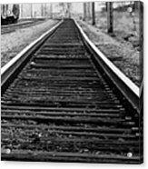 Entering The Train Yard. Washington Dc Acrylic Print