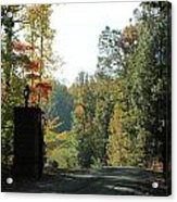 Entering Wine Country Acrylic Print