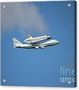 Enterprise Acrylic Print by Mircea Nicolescu Photography