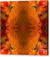 Entertaining Energy Abstract Pattern Artwork By Omaste Witkowski Acrylic Print