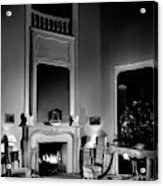 Entrance Hall Of Joan Bennett And Walter Wagner's Acrylic Print