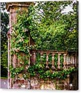 Entrance Pillar Acrylic Print