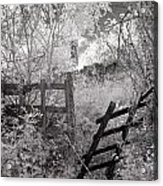 Entrance To An Old House Acrylic Print