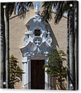 Entrance To Congregational Church Acrylic Print