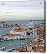 Entrance To Grand Canal Venice Acrylic Print