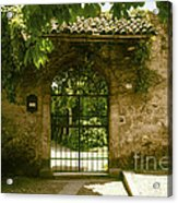 Entrance To Romeo And Juliet House Acrylic Print
