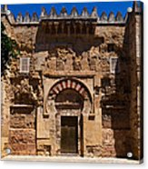 Entrance To The 10th Century Mezquita Acrylic Print