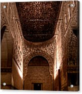 Entrance To The Ambassadors Hall In The Alhambra Acrylic Print