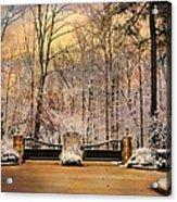 Entrance To Winter Acrylic Print