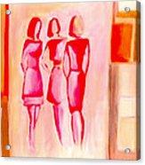 Entre Nous Acrylic Print