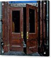 Entry - Burlington Place - Omaha Acrylic Print