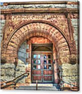 Entry Acrylic Print by MJ Olsen