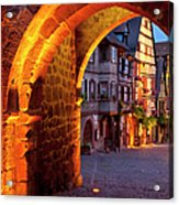 Entry To Riquewihr Acrylic Print