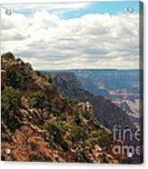 Environment Of The Canyon Acrylic Print