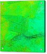 Envision Aqua Green Acrylic Print
