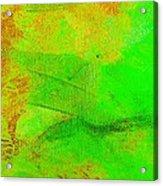 Envision Emerald Green Acrylic Print