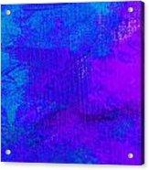 Envision Purple Blue Acrylic Print