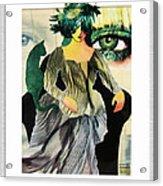 Envy Acrylic Print by Eve Riser Roberts
