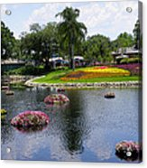 Epcot Center Flower Festival 1 Acrylic Print
