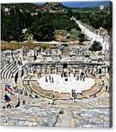 Theater Of Ephesus Acrylic Print