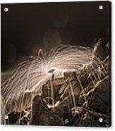 Epic Steel Wool... Acrylic Print
