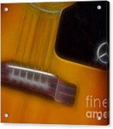 Epiphone Acoustic-9428-fractal Acrylic Print