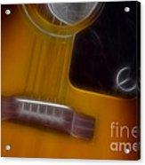 Epiphone Acoustic-9429-fractal Acrylic Print