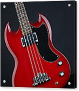 Epiphone Sg Bass-9189 Acrylic Print