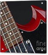 Epiphone Sg Bass-9205 Acrylic Print