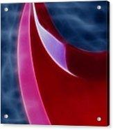 Epiphone Sg Bass-9215-fractal Acrylic Print