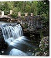 Eramosa River Rockwood On Acrylic Print
