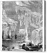 Erebus And Terror In The Ice 1866 Acrylic Print