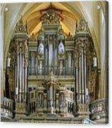 Erfurt Pipe Organ Acrylic Print