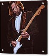 Eric Clapton Painting Acrylic Print