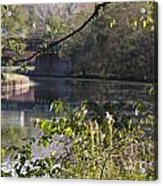 Erie Canal At Bushnell Basin Acrylic Print
