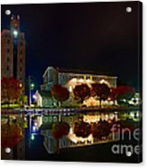 Erie Canal In Pittsford Ny Acrylic Print