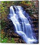 Erie Falls Vertical Panoramic Acrylic Print