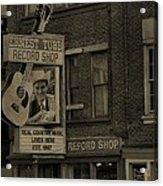 Ernest Tubb Record Shop Acrylic Print