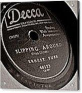 Ernest Tubb Vinyl Record Acrylic Print