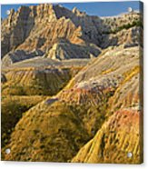 Eroded Buttes Badlands National Park Acrylic Print