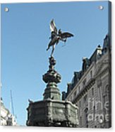 Eros At Piccadilly Acrylic Print