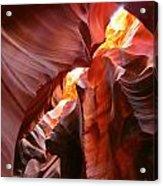 Erosions At Antelope Canyon Acrylic Print
