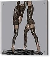erotic acrobatics 2EA 1 Acrylic Print by Pemaro