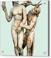 Aphrodite, Pan And Eros Acrylic Print