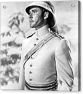 Errol Flynn In The Charge Of The Light Brigade Acrylic Print