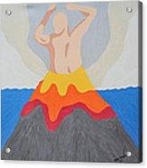Erupted Acrylic Print