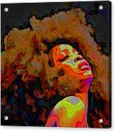 Erykah Badu Acrylic Print