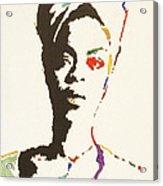 Erykah Badu Acrylic Print by Stormm Bradshaw