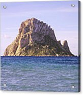 Es Vedra Rock Island Of Ibiza Acrylic Print